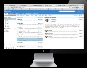 Zimbra Business-class email untuk komunikasi aman